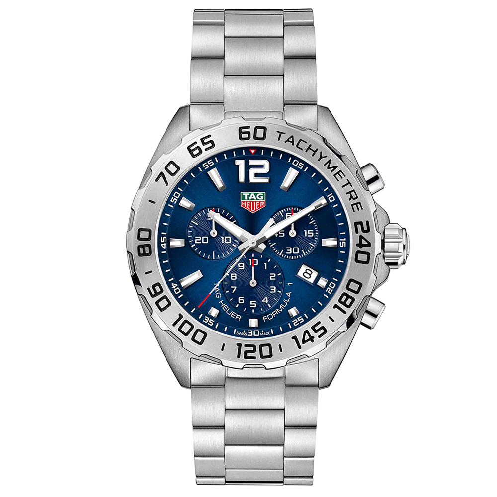 TAG Heuer Formula 1 CAZ101KBA0842 Silver Stainless Steel Mens Watch