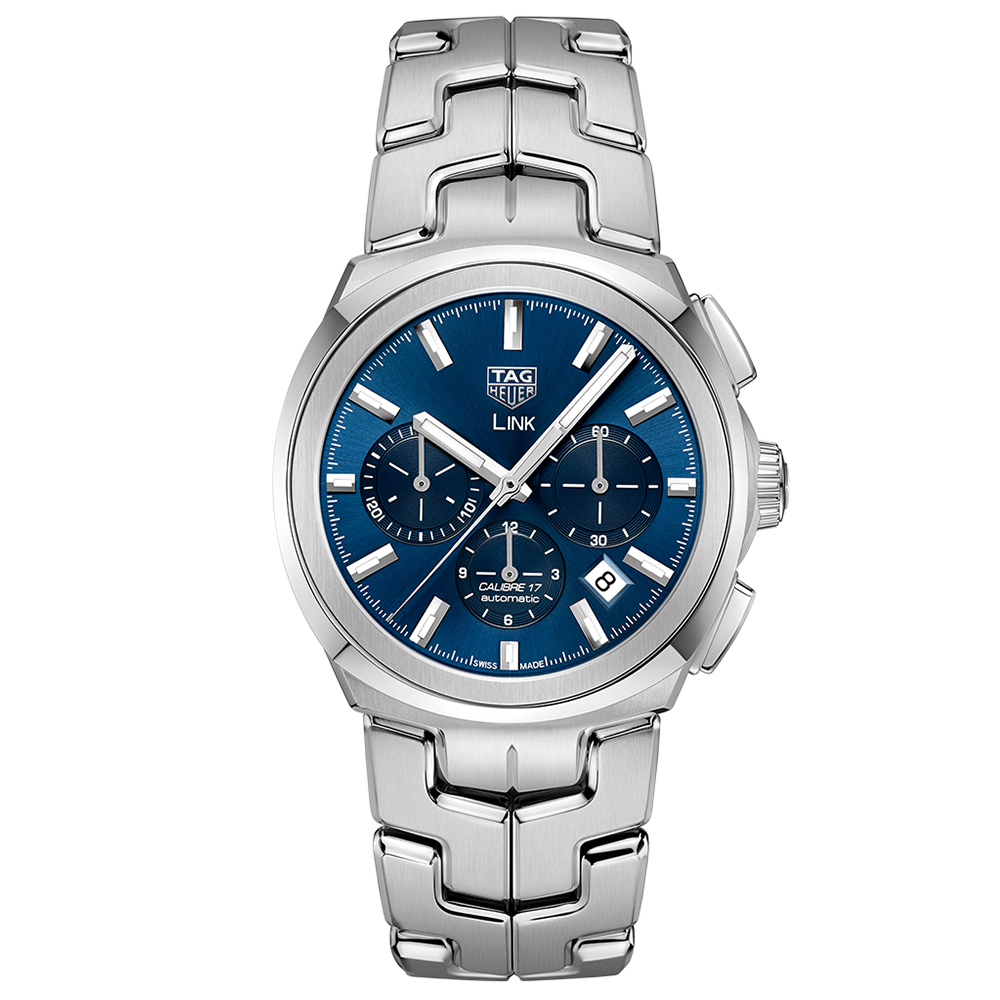 TAG Heuer Link CBC2112BA0603 Silver Stainless Steel Mens Watch