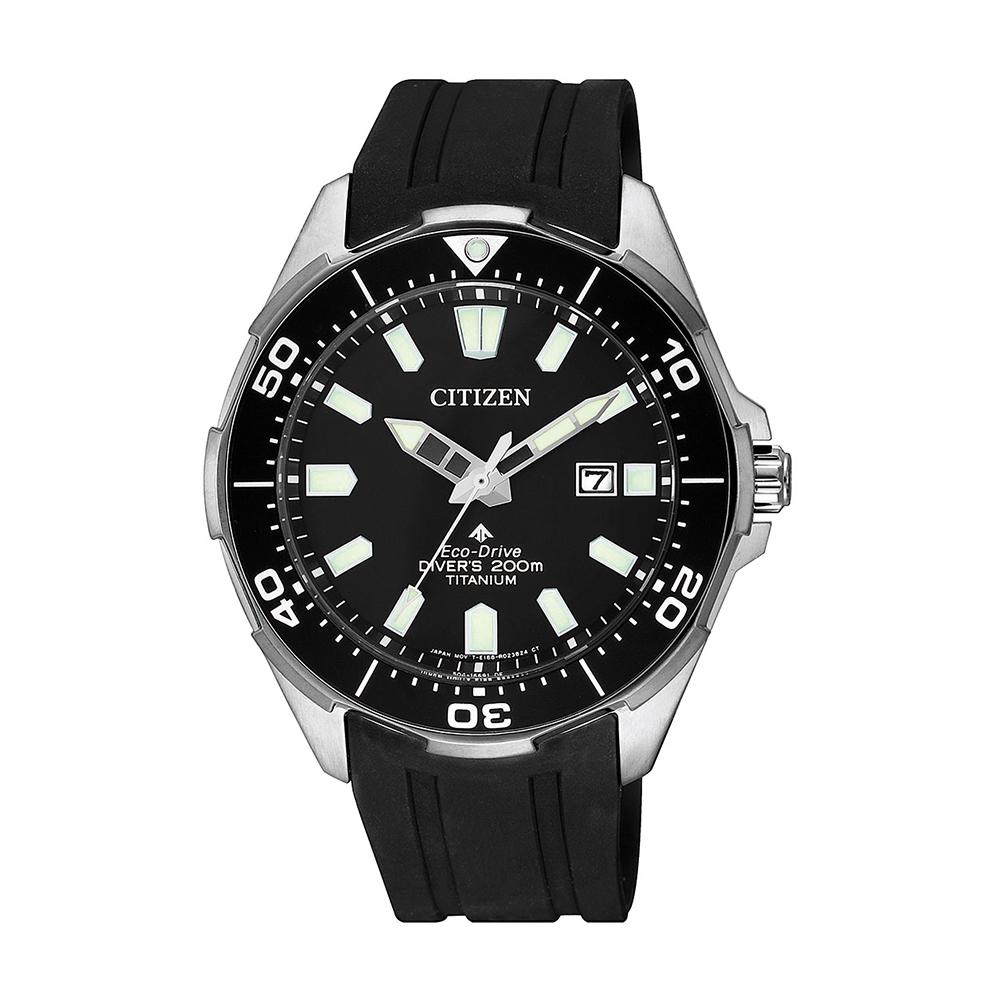 Citizen Eco-Drive Promaster BN0200-13E Black Rubber Mens Watch