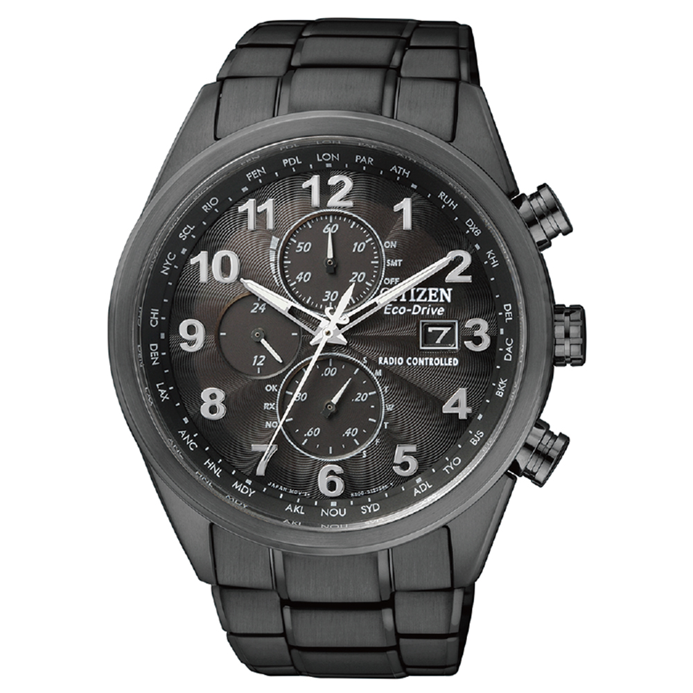 Citizen Eco-Drive AT8105-53E Stainless Steel Mens Watch