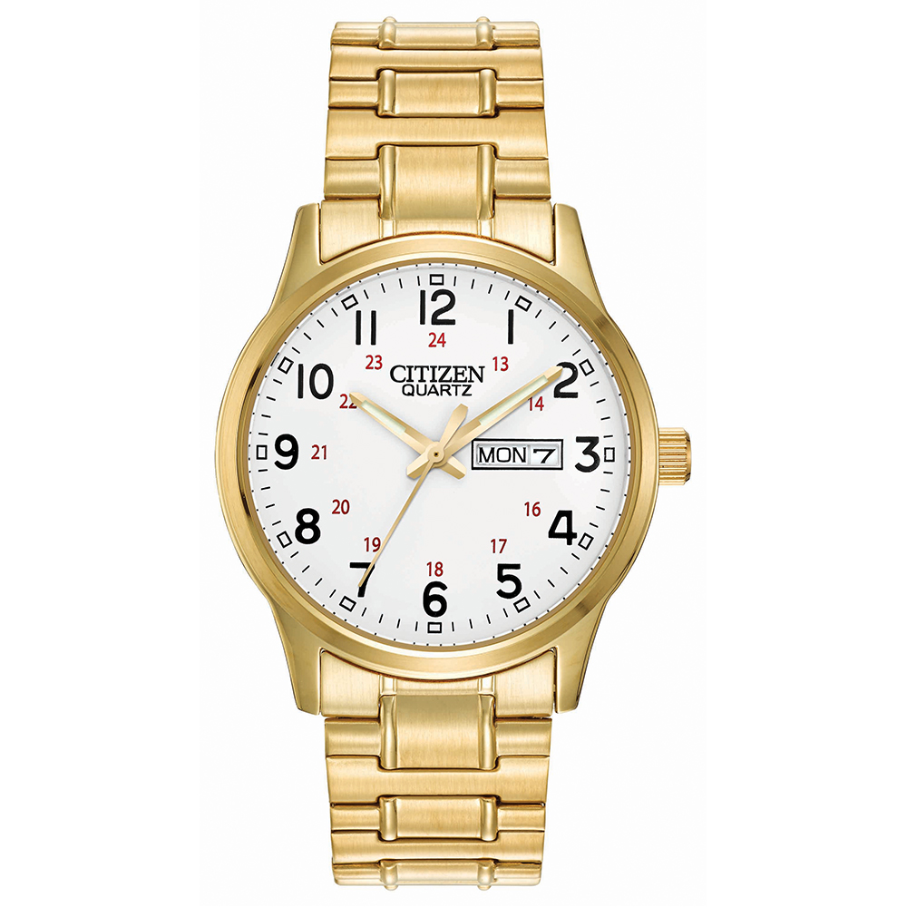 Citizen Quartz BF0612-95A Gold Stainless Steel Mens Watch