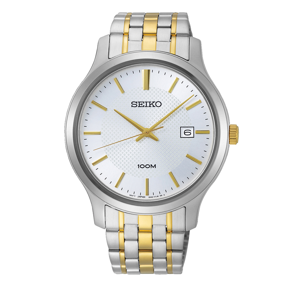 Seiko SUR295P1 Two-Tone Stainless Steel Mens Watch