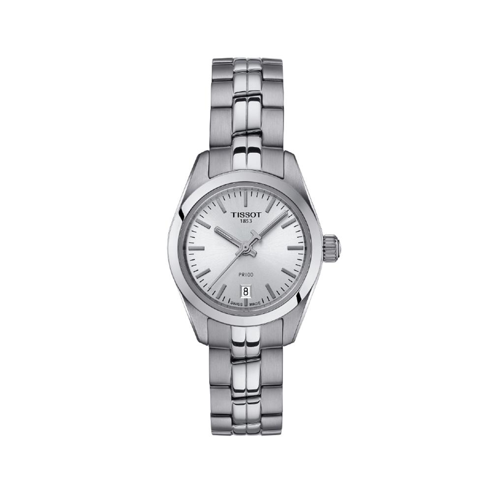 Tissot PR100 T1010101103100 Stainless Steel Womens Watch