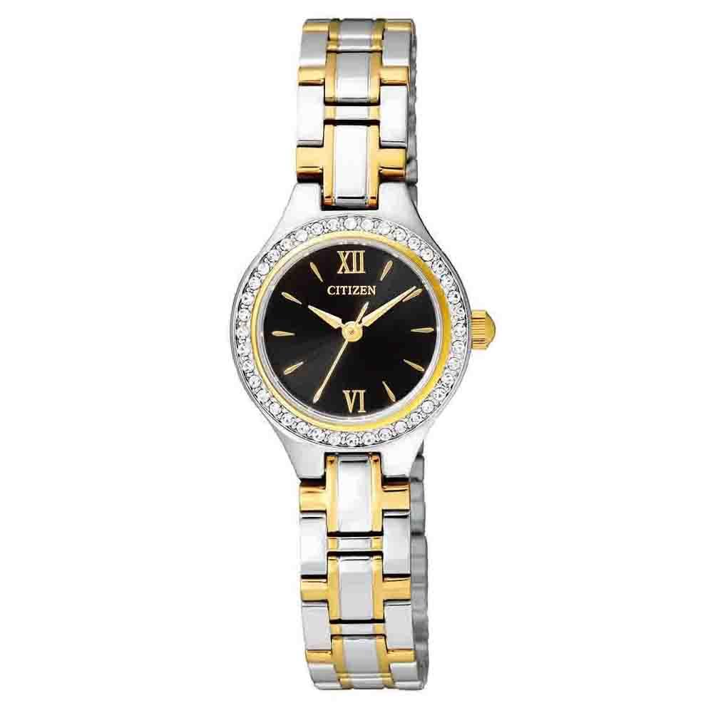 Citizen EJ6094-52E Swarovskli Crystals Stainless Steel Womens Watch