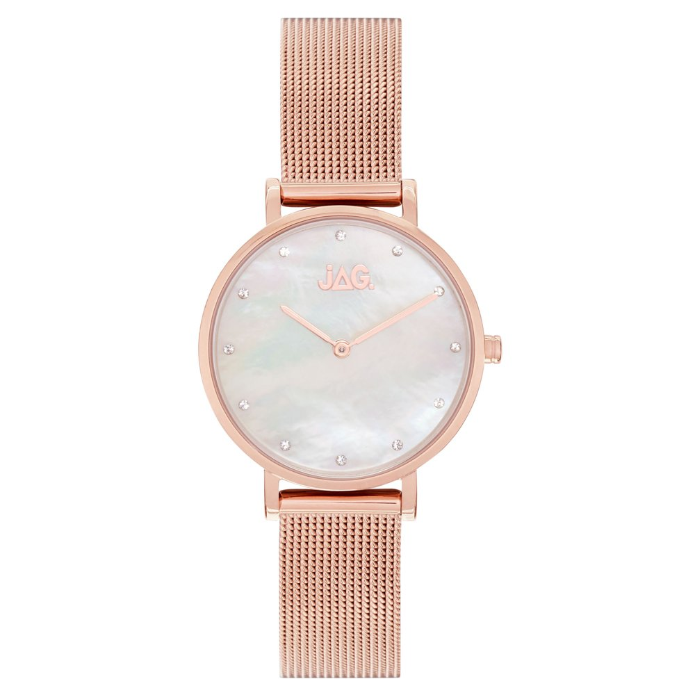Jag J2233A Rose Stainless Steel Womens Watch
