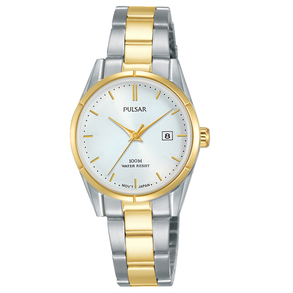 Pulsar PH7474X Two-Tone Stainless Steel Womens Watch