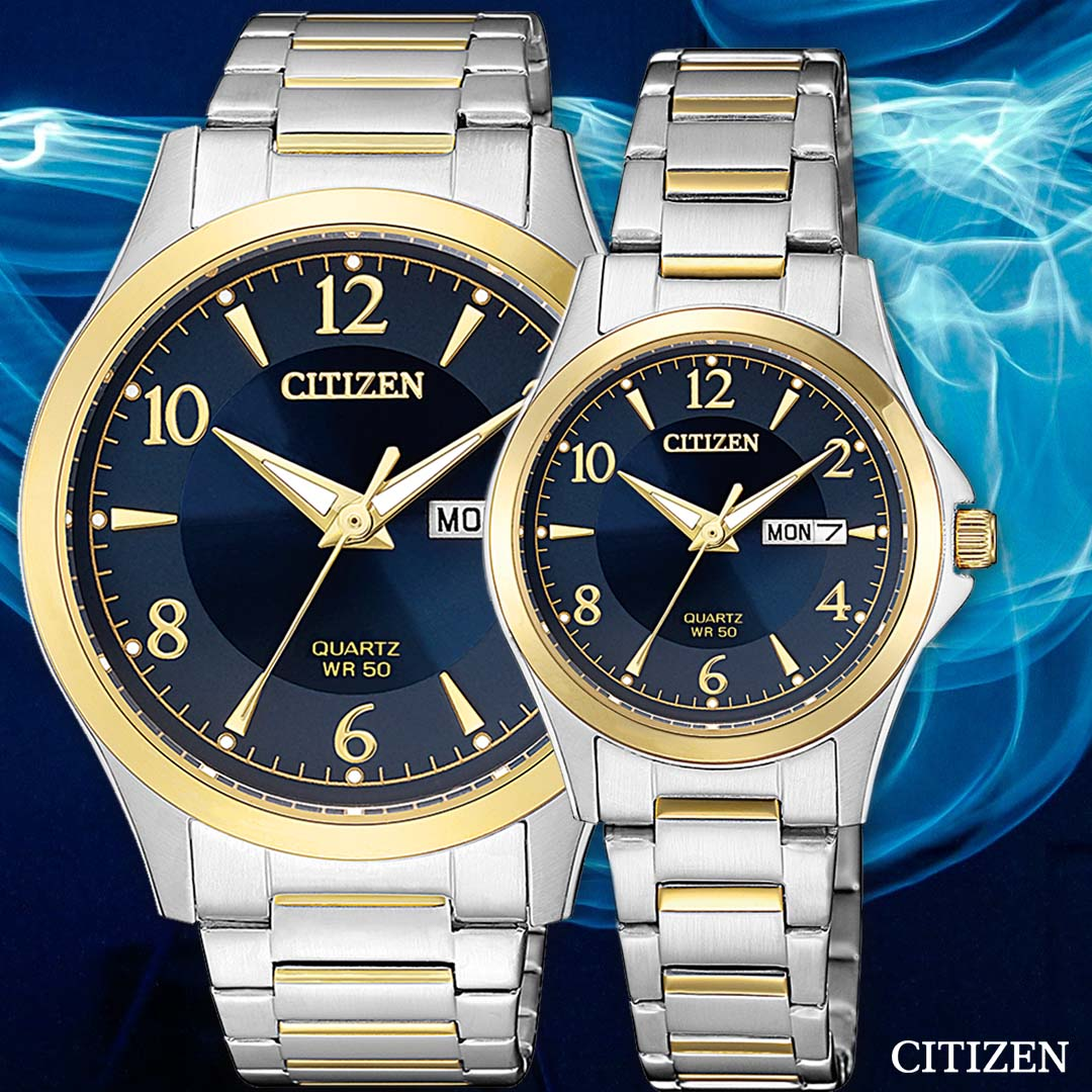 Citizen BF2005-54L Two-Tone Stainless Steel Mens Watch
