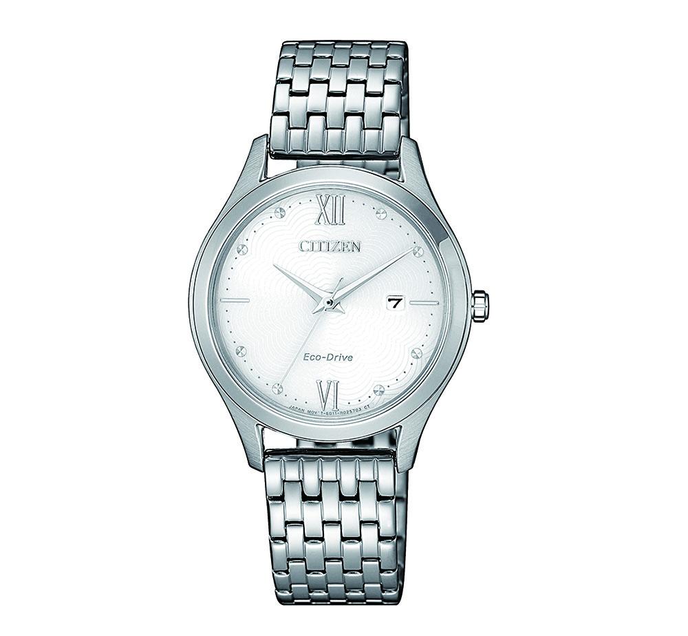 Citizen EW2530-87A Silver Stainless Steel Womens Watch