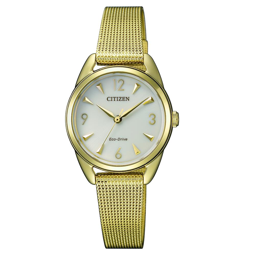 Citizen EM0687-89P Gold Stainless Steel Womens Watch