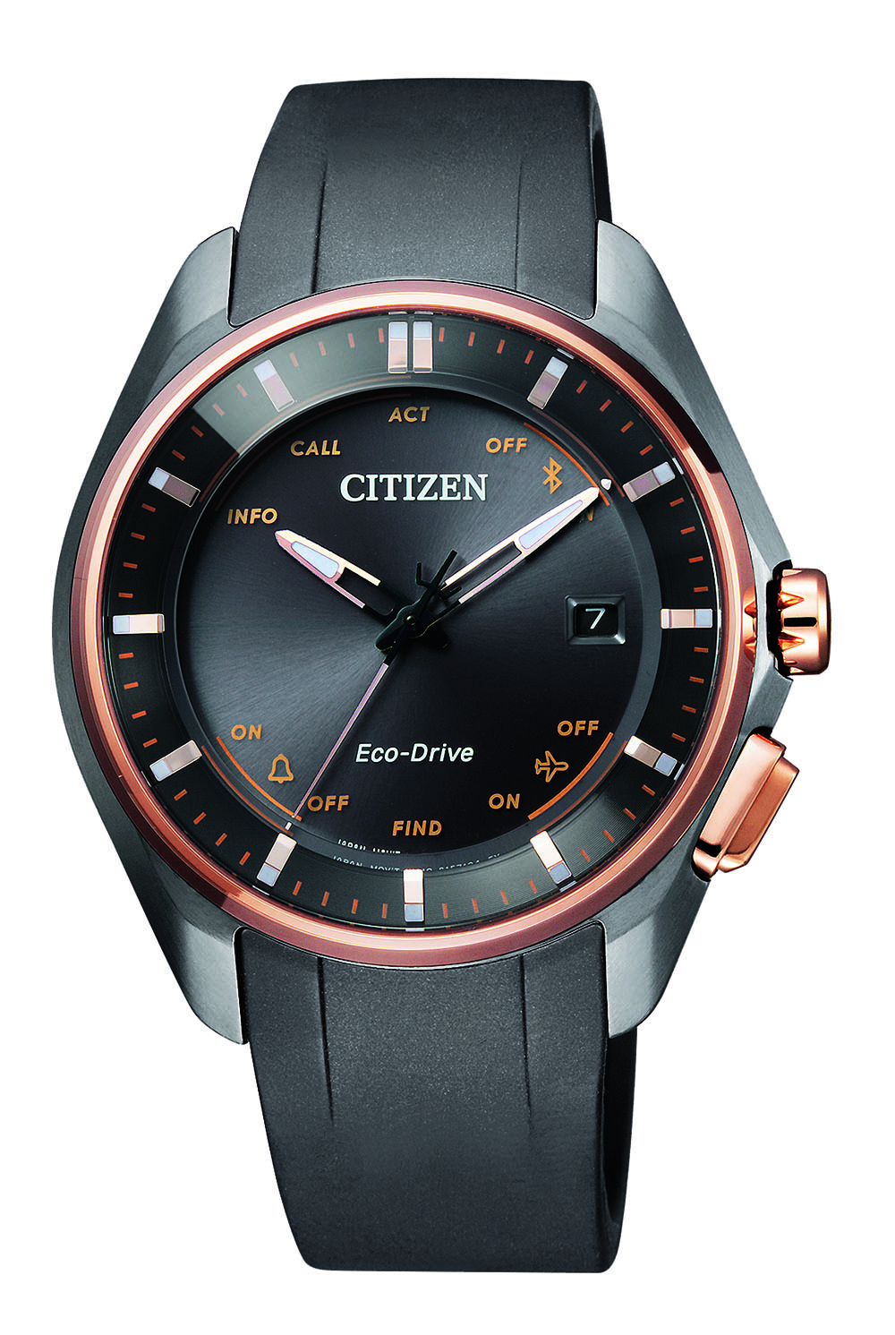 Citizen Naomi Watch BZ4006-01E Black Rubber Womens Watch