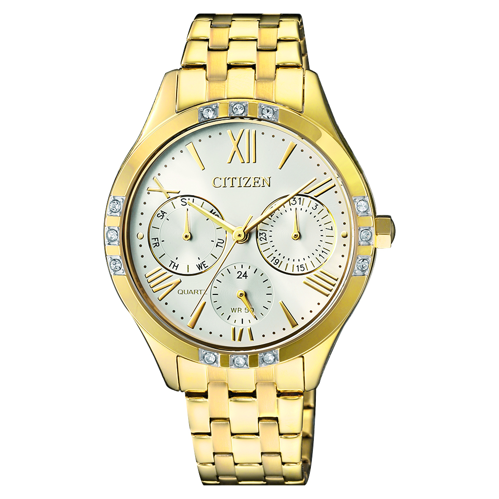 Citizen Swarovski Crystals ED8172-51A Womens Watch