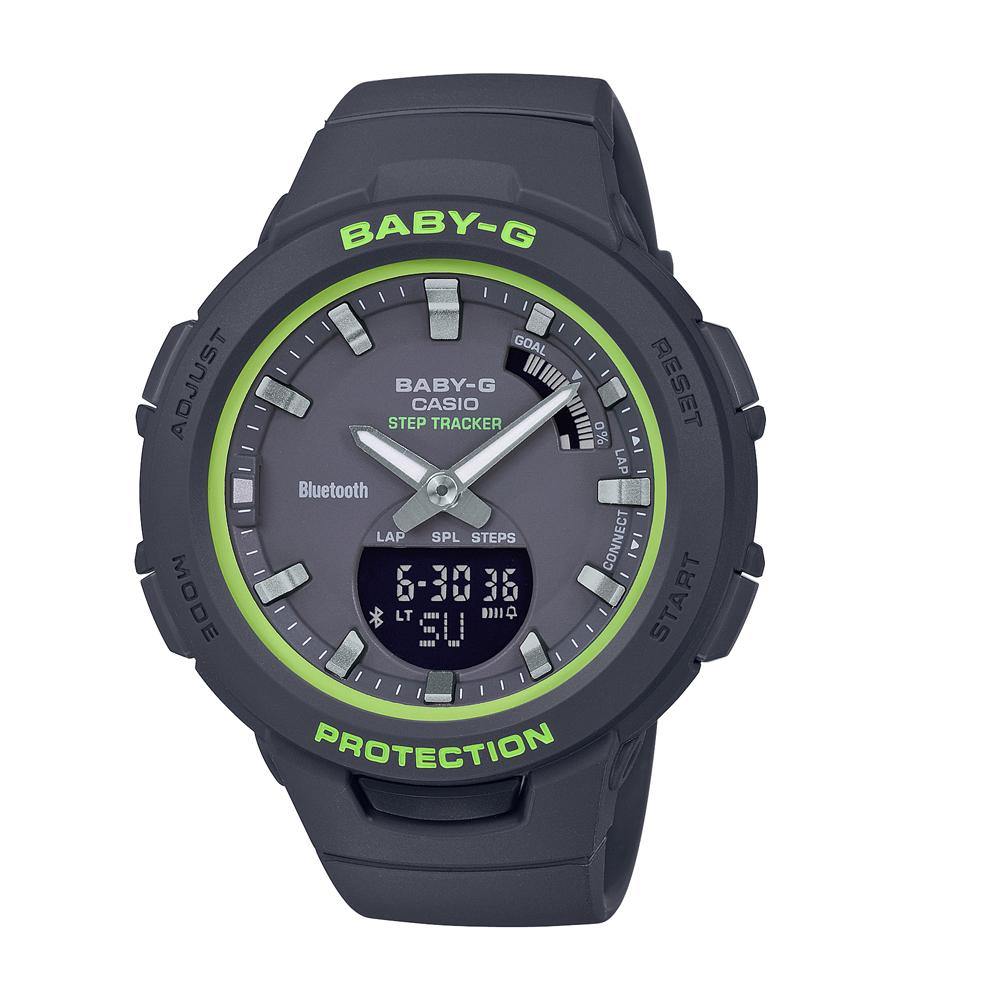 Baby-G  BSAB100SC-1A Black Resin Womens Watch
