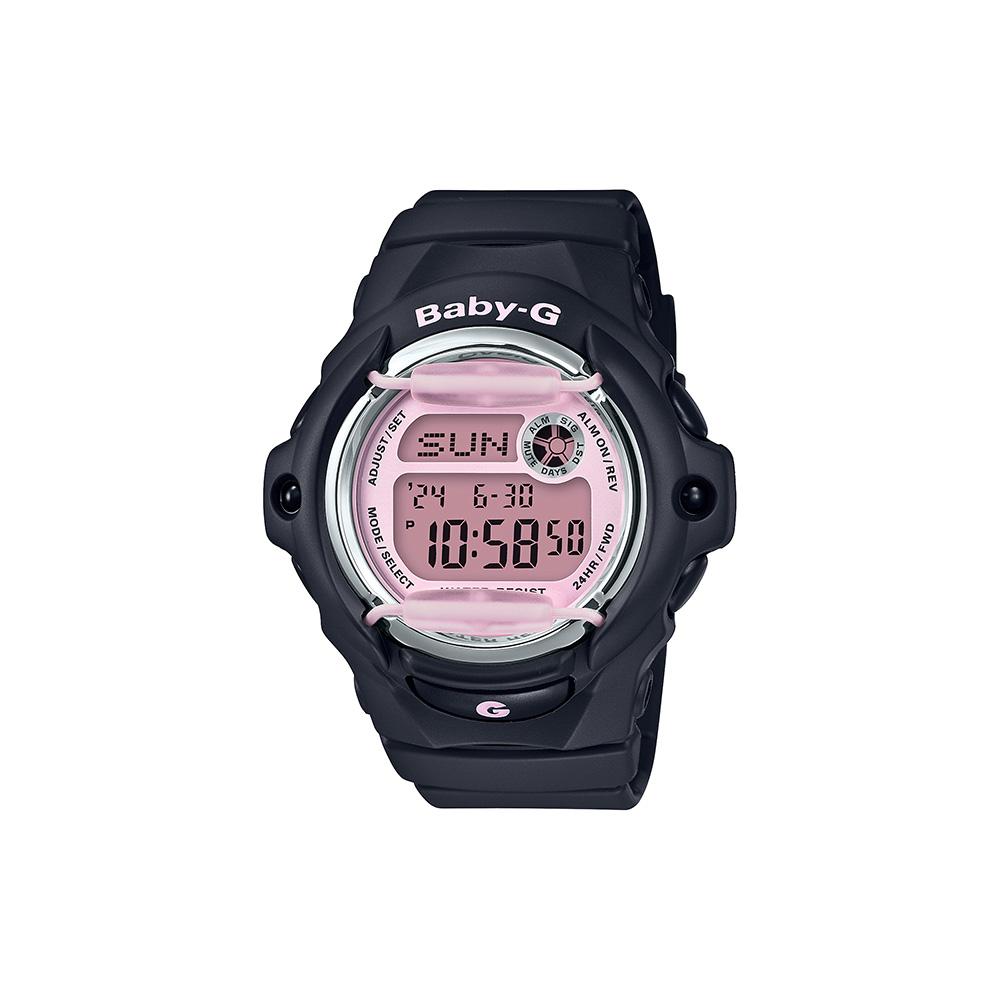Baby-G BG169M-1D Black Resin Womens Watch