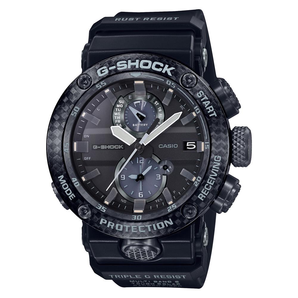 G-Shock Gravity Master Carbon GWR-B1000-1A1DR Black Resin Mens Watch
