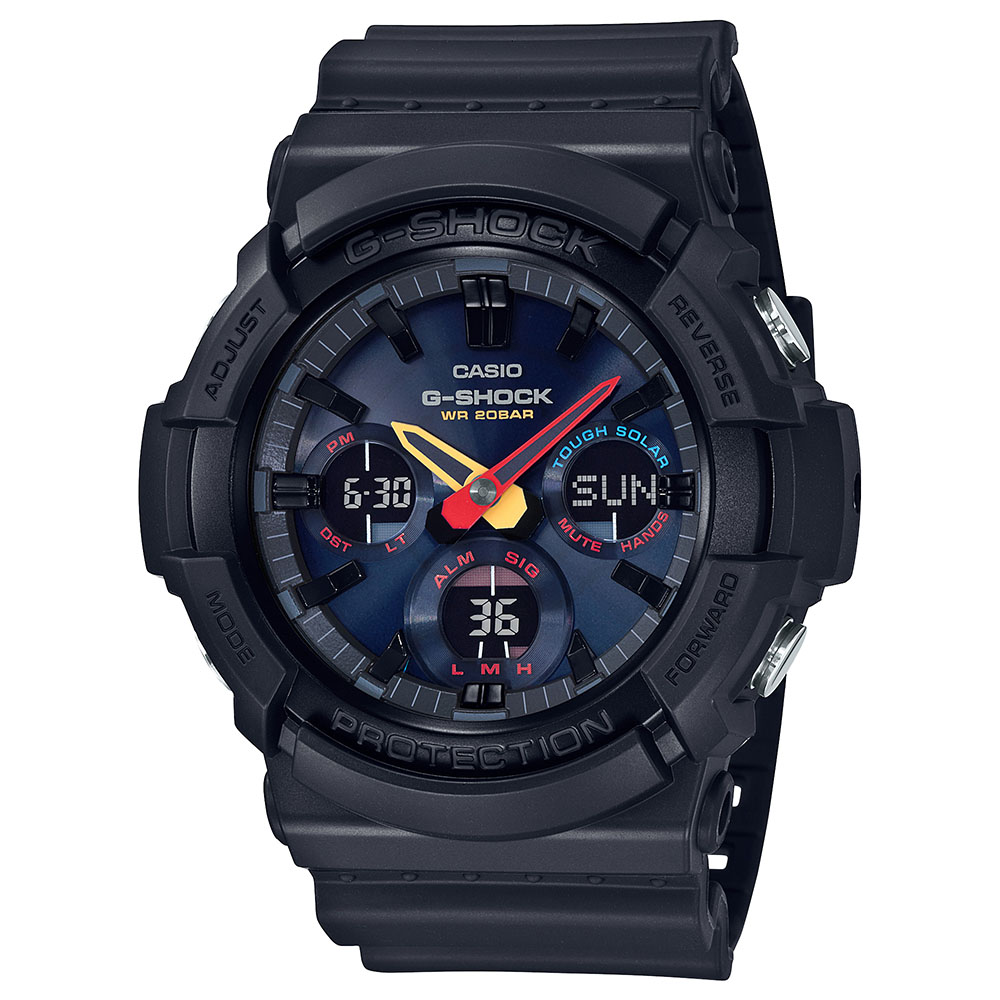 Casio G-Shock GAS-100BMC-1DR Black Resin Mens Watch