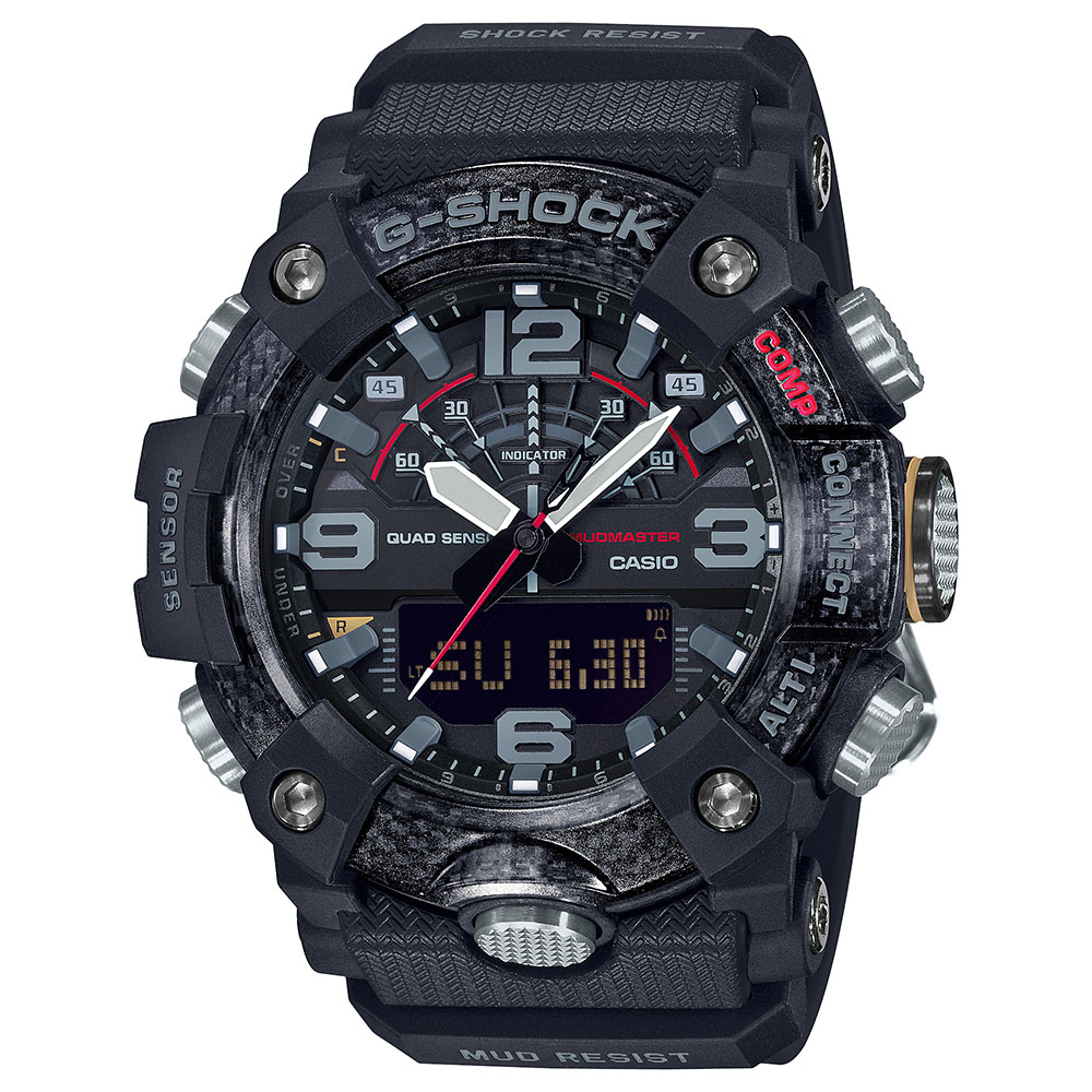 G-Shock Mudmaster GG-B100-1ADR Black Resin Mens Watch