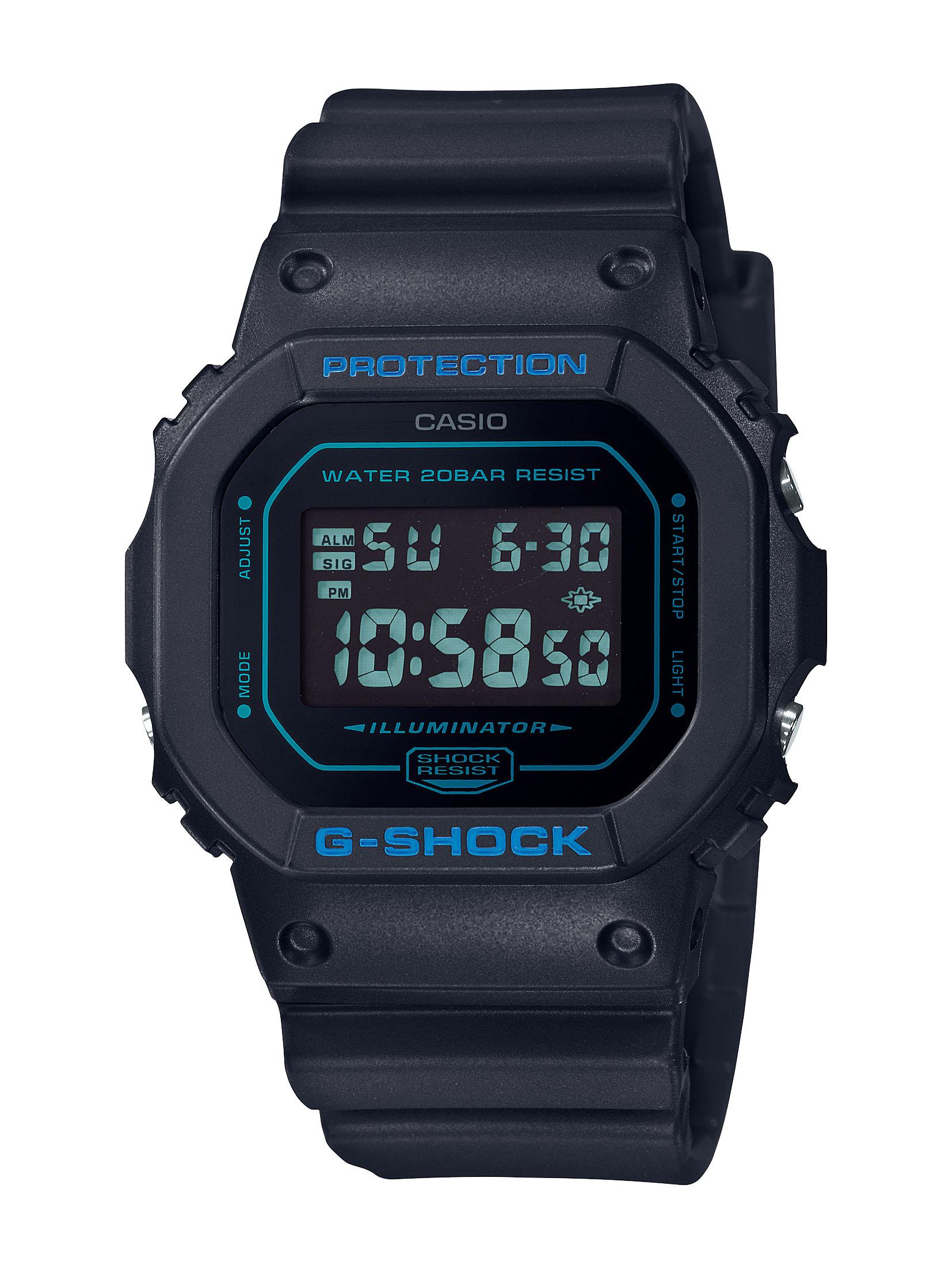 Casio G-Shock DW-5600BBM-1DR Black Resin Mens Watch