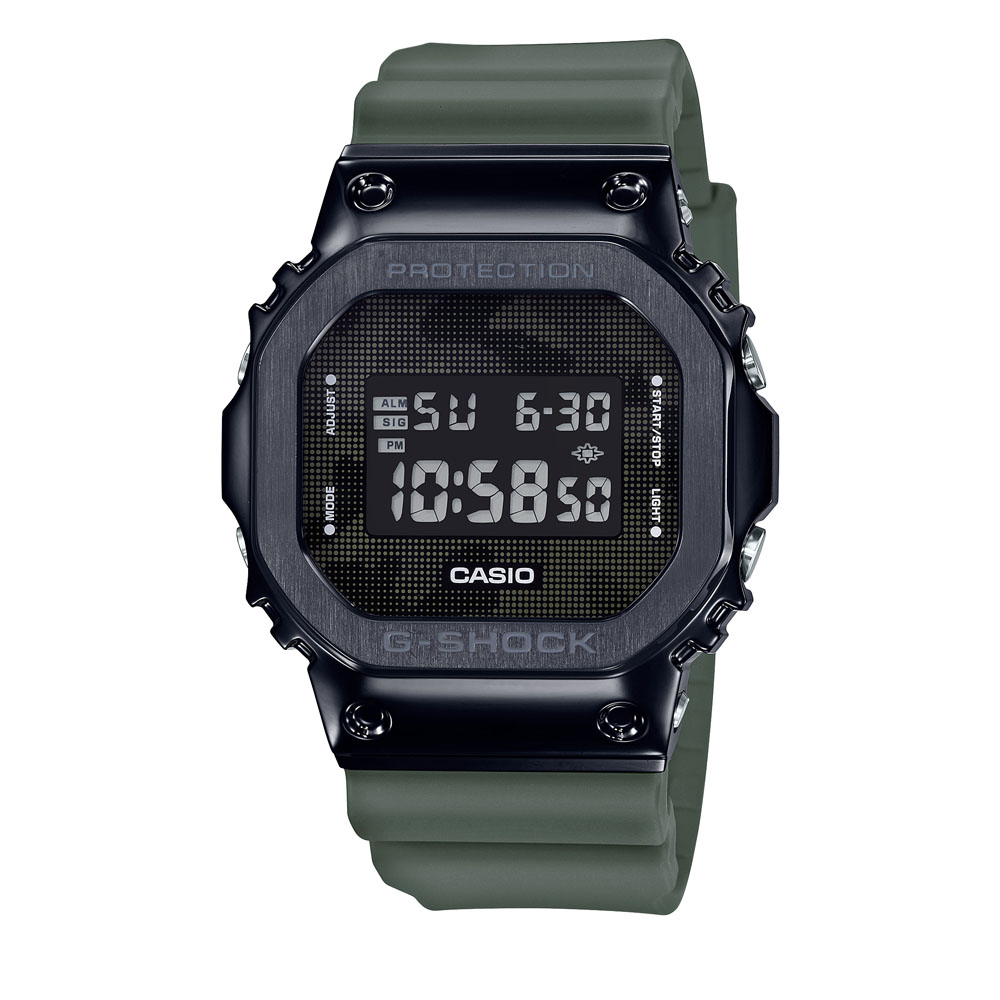 Casio G-Shock GM-5600B-3DR Green Resin Mens Watch