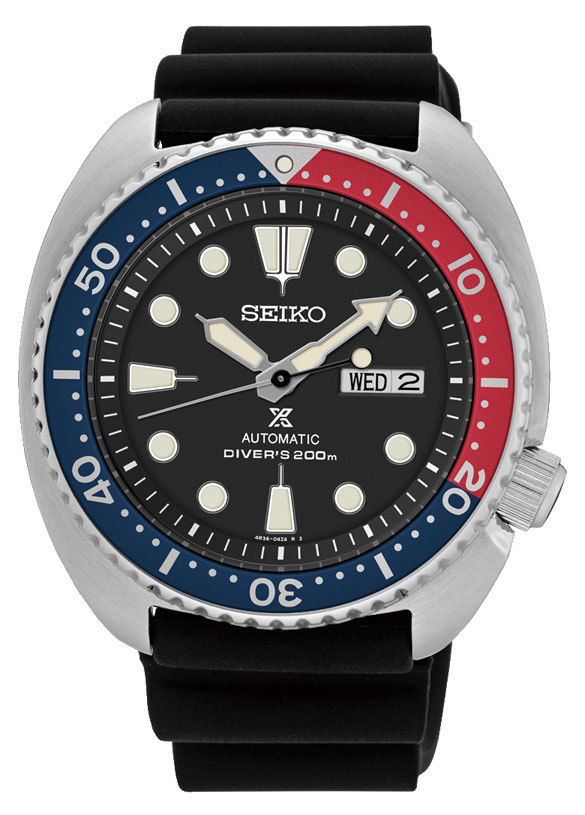 Seiko Prospex SRP779K Black Silicone Mens Watch