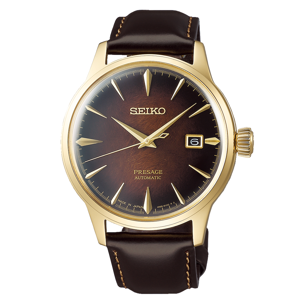 Seiko Presage SRPD36J Limited Edition Automatic Mens Watch with bonus Leather Strap