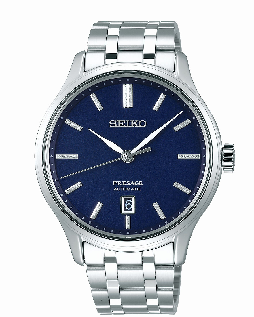 Seiko Presage SRPD41J Silver Stainless Steel Mens Watch