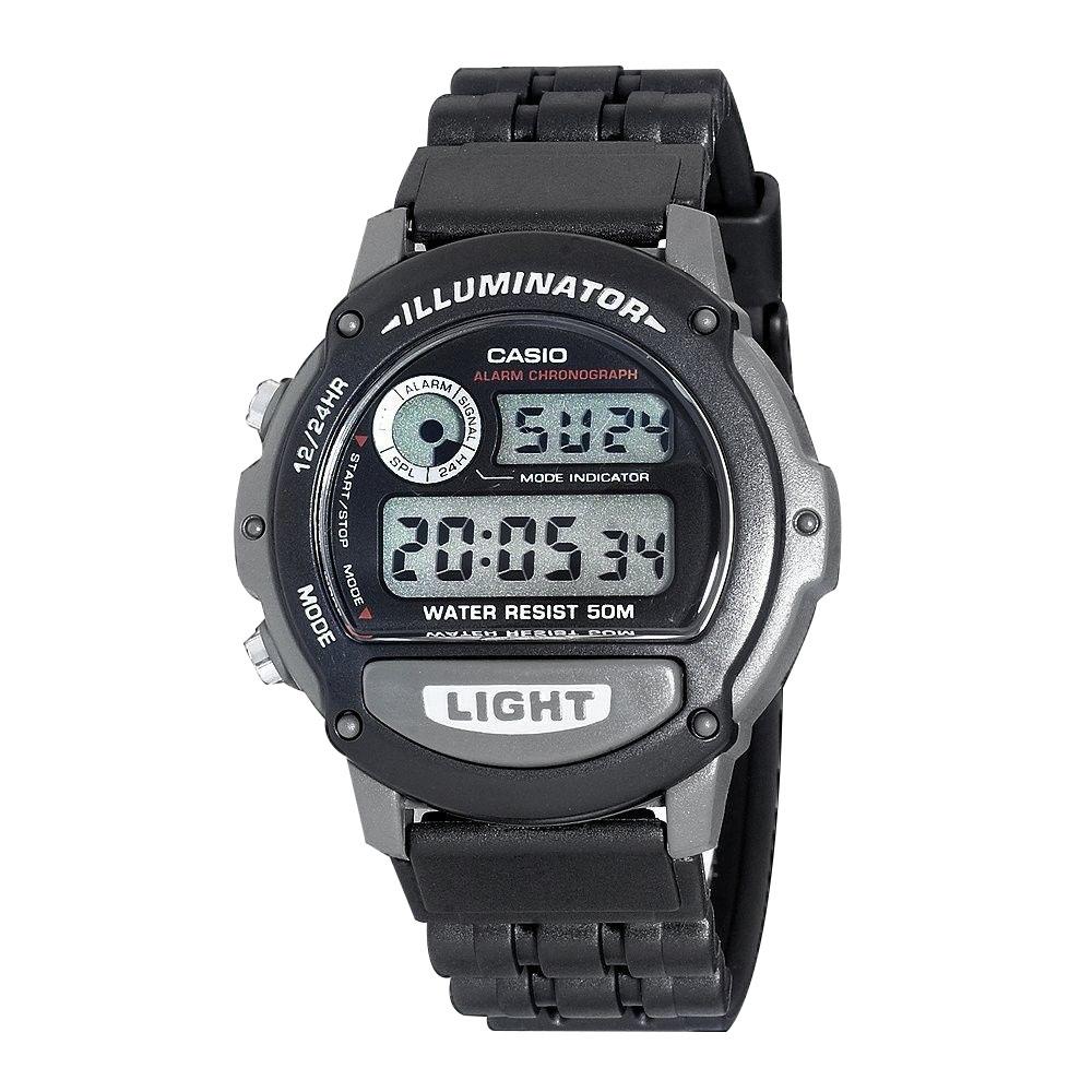 Casio W87H-1VH Black Mens Watch