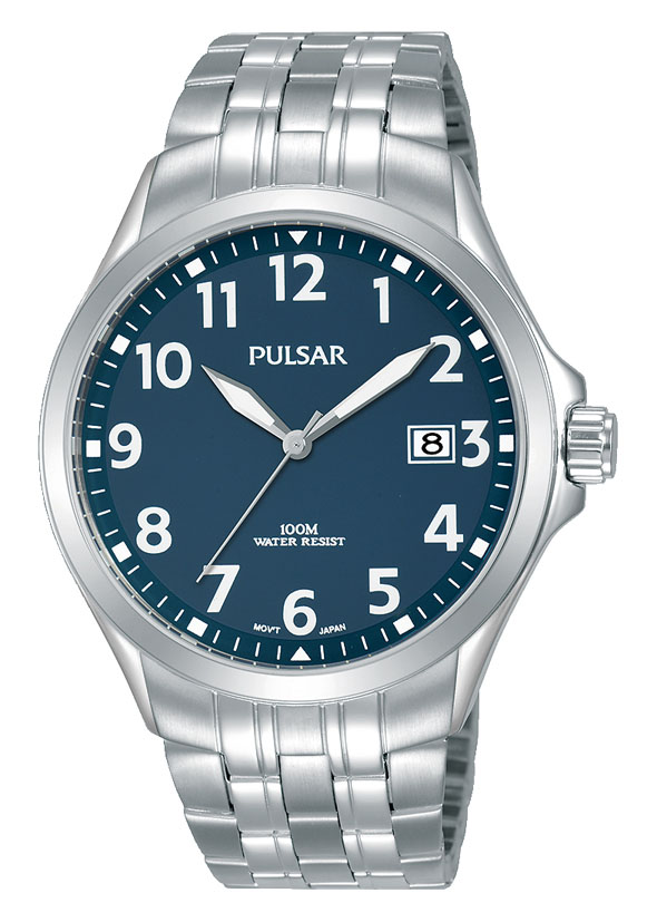 Pulsar PS9629X Silver Stainless Steel Mens Watch