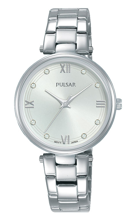 Pulsar PH8453X Silver Stainless Steel Womens Watch