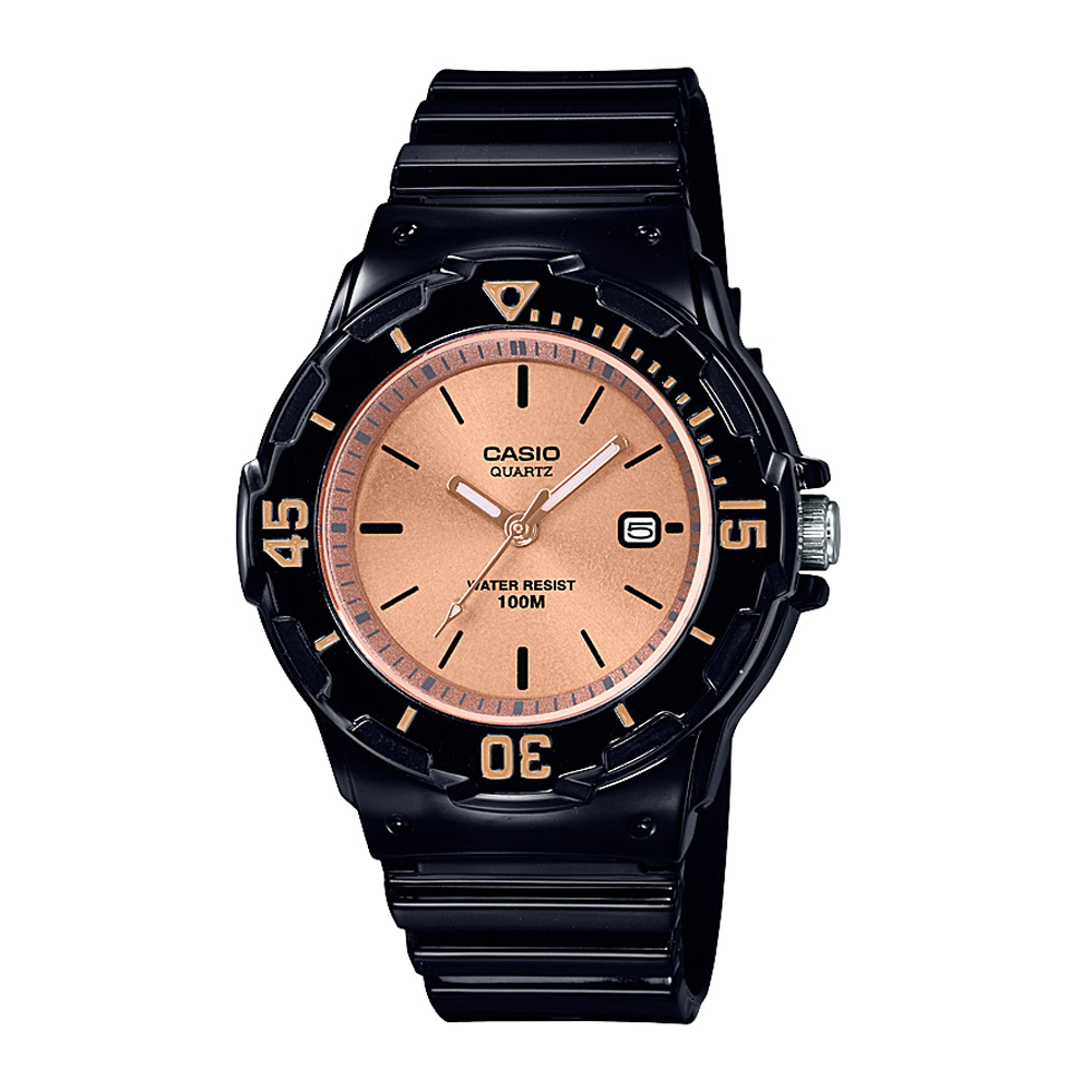 Casio LRW200H-9E Black Resin Youth Watch