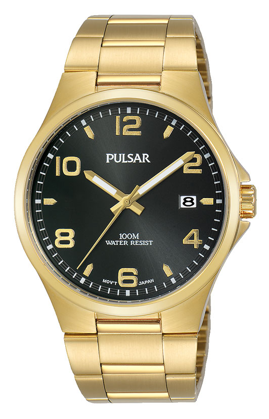 Pulsar PS9622X Gold Stainless Steel Mens Watch