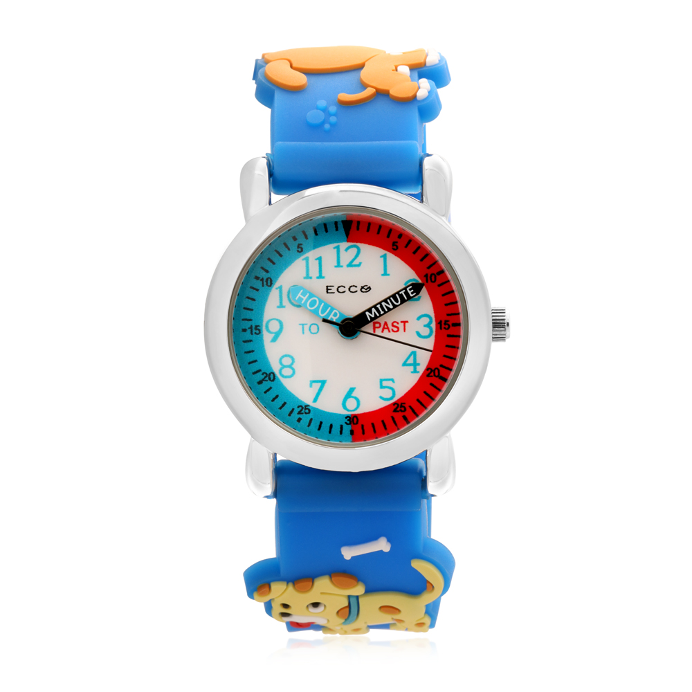 ECC Puppies Strap Kids Watch