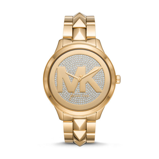 Michael Kors Runway Mercer MK6714 Rose Gold Stainless Steel Womens Watch