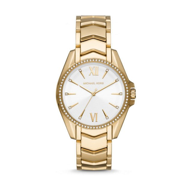 Michael Kors Whitney MK6693 Gold Stainless Steel Womens Watch
