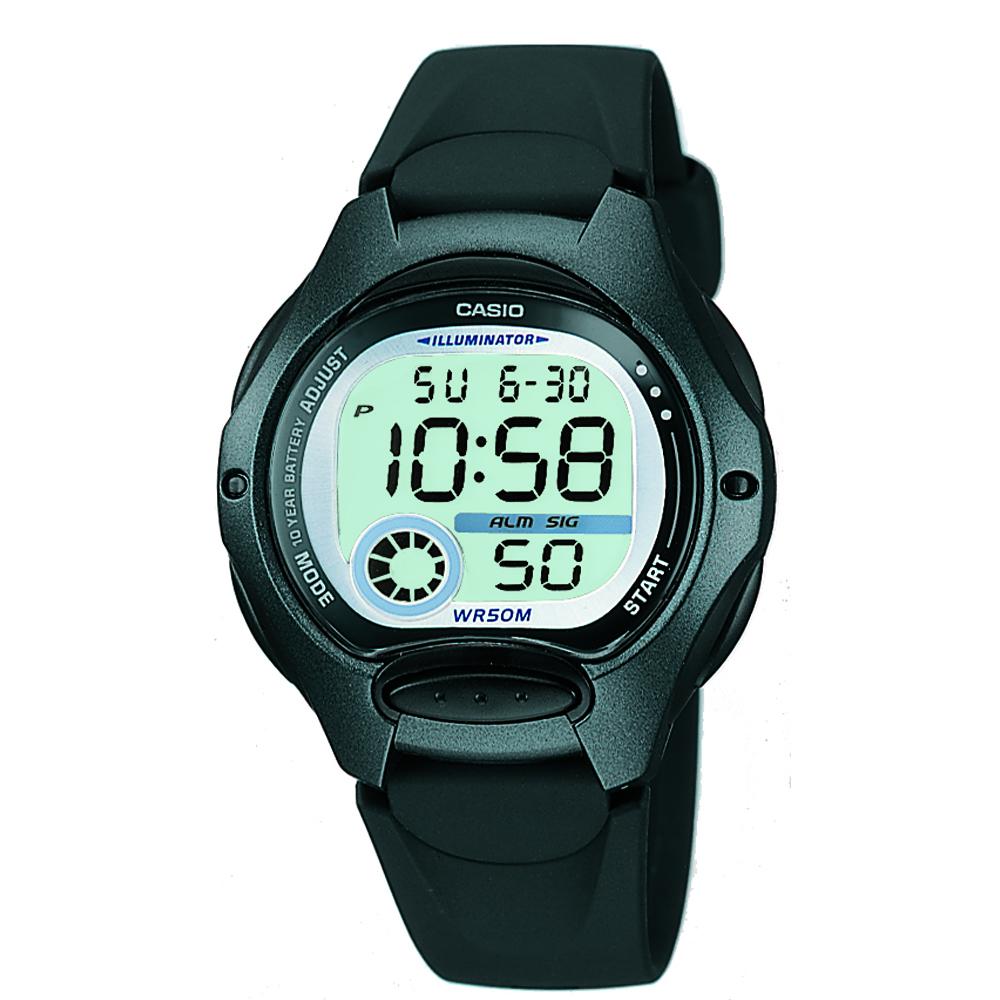 Casio LW200-1B Black Youth Digital Watch