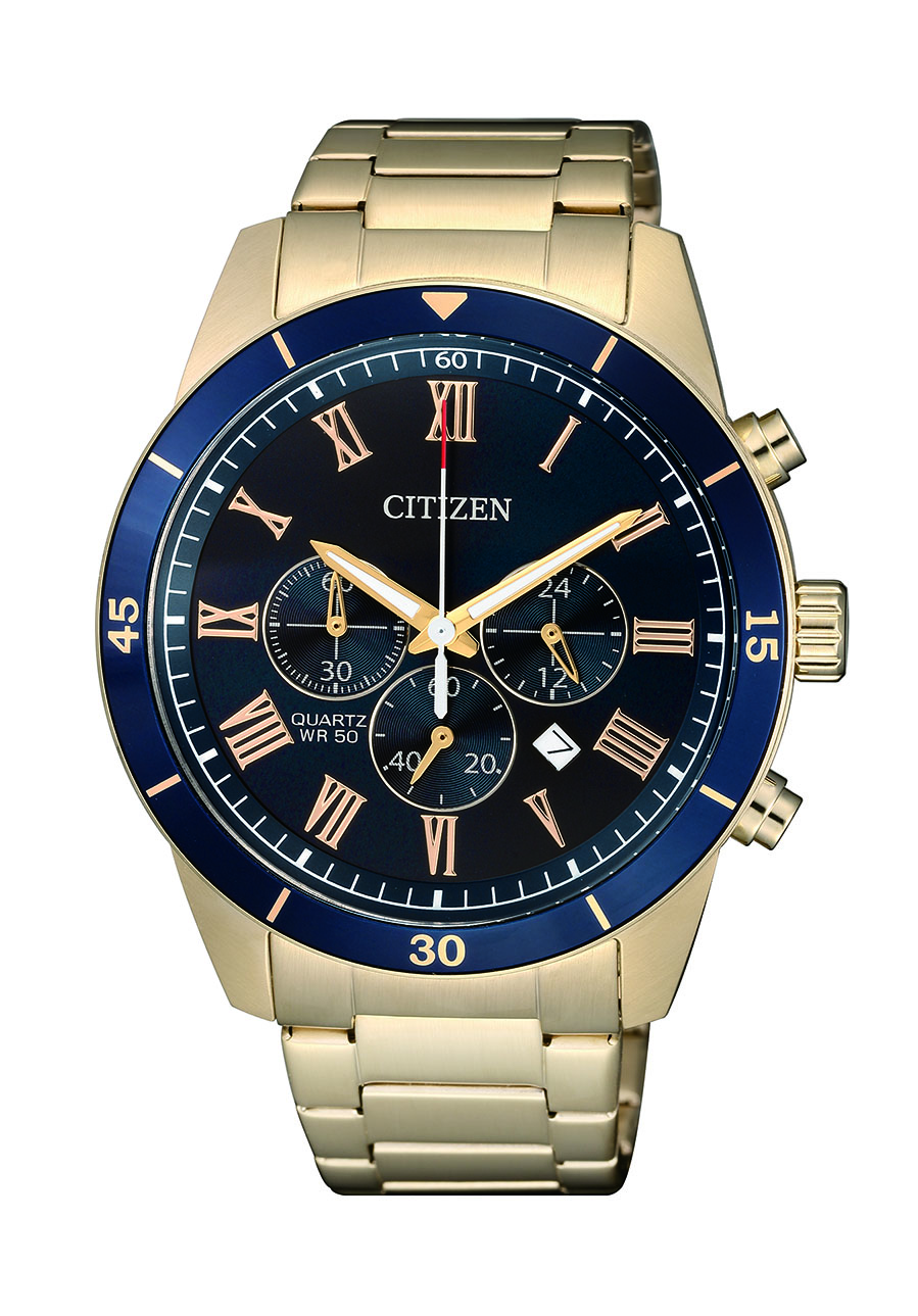 Citizen AN8169-58L Rose Gold Tone Stainless Steel Mens Watch