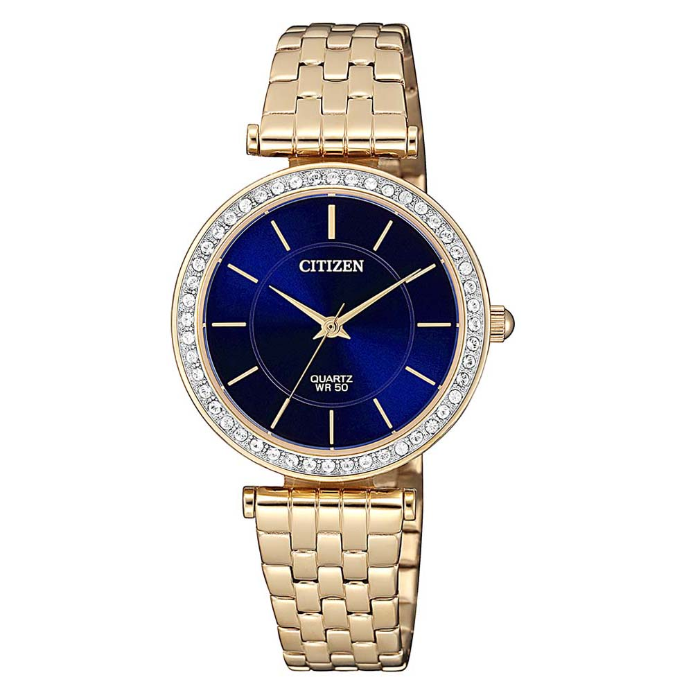 Citizen ER0213-57L Swarovski Gold Stainless Steel Womens Watch