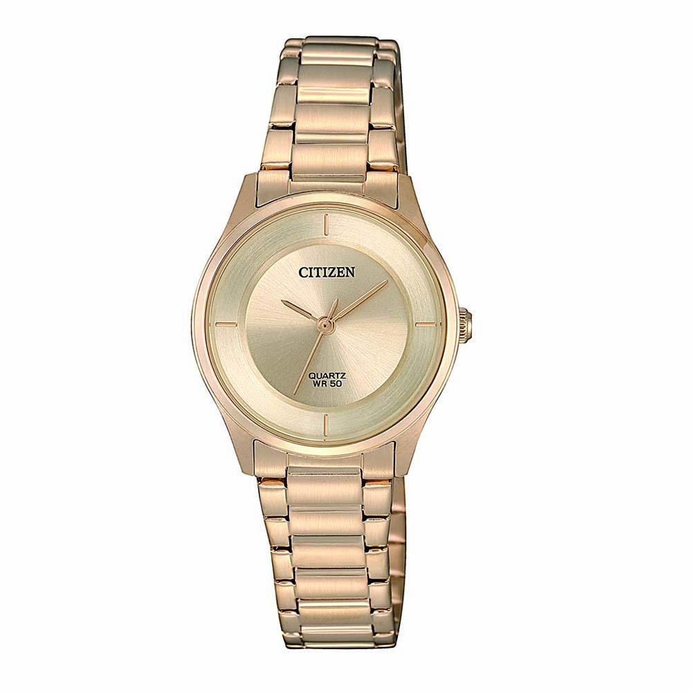 Citizen ER0205-80X Gold Stainless Steel Womens Watch