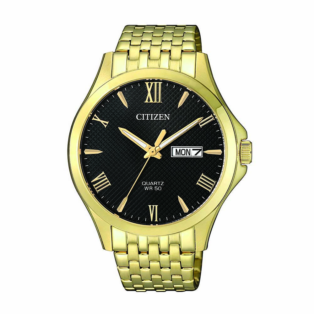 Citizen BF2022-55H Gold Stainless Steel Mens Watch