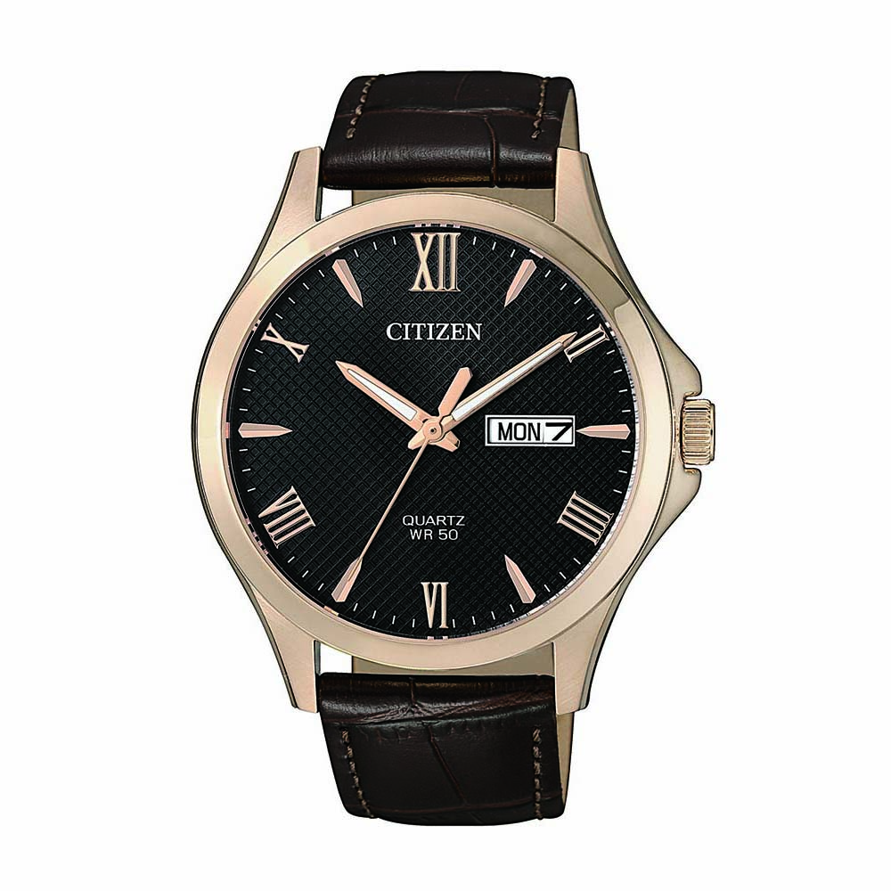 Citizen BF2023-01H Brown Leather Mens Watch