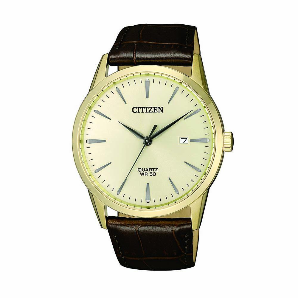 Citizen BI5002-14A Brown Leather Mens Watch