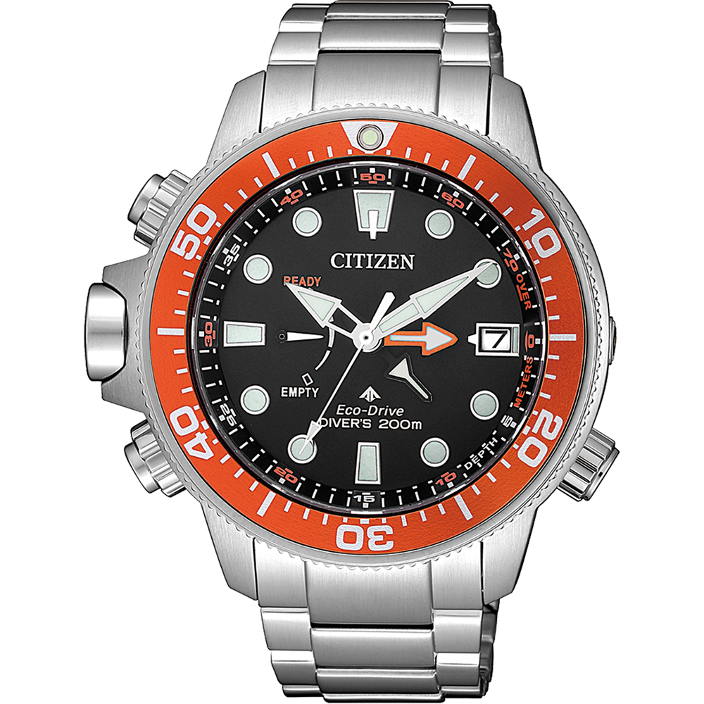Citizen Promaster BN2039-59E Silver Stainless Steel Mens Watch