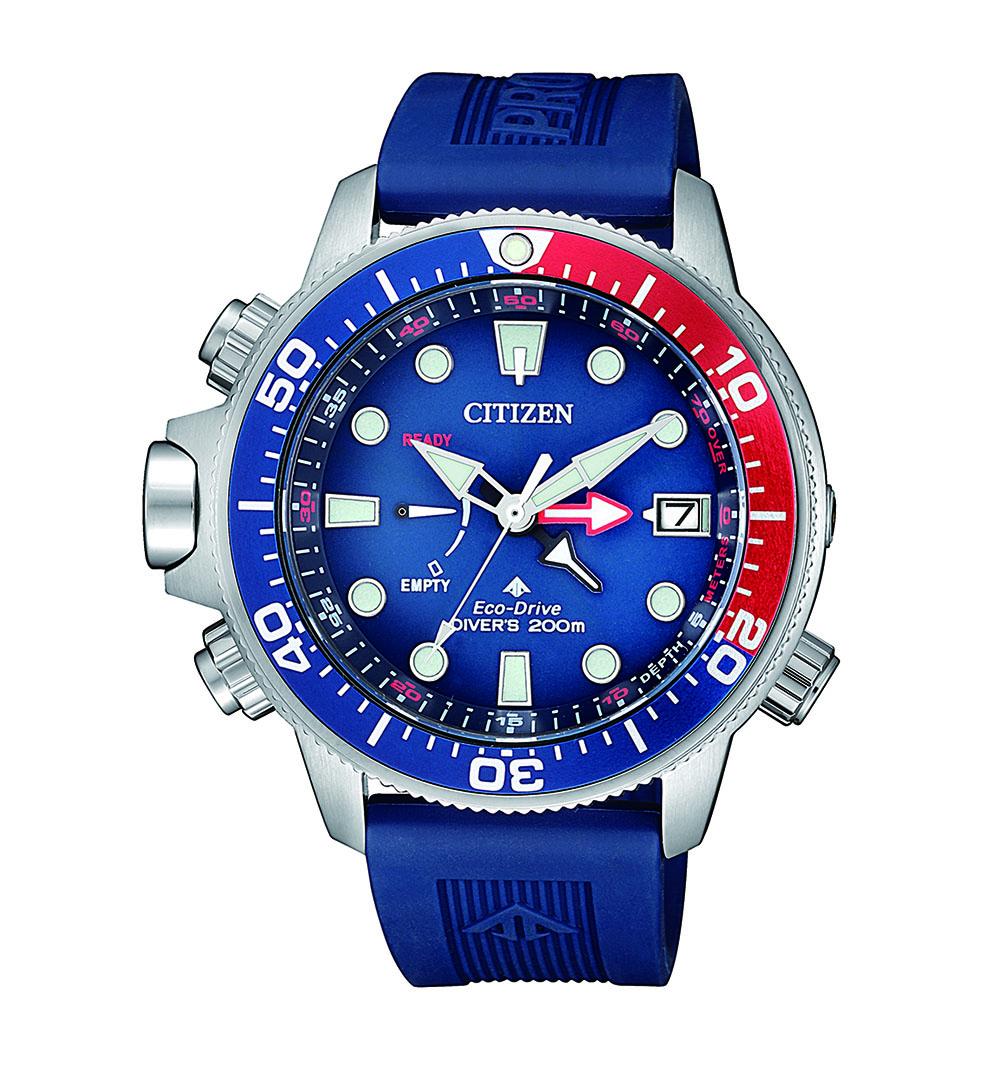Citizen Promaster BN2038-01L Blue Rubber Mens Watch