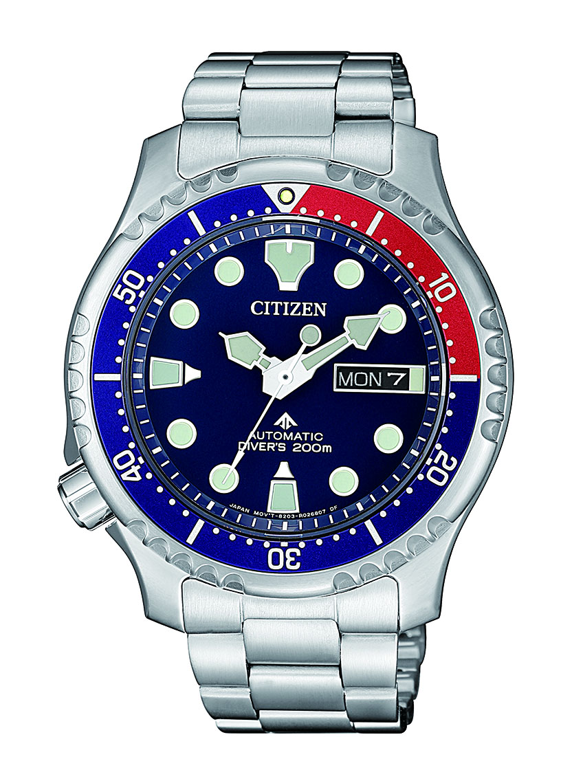 Citizen Promaster NY0086-83L Automatic Stainless Steel Mens Watch