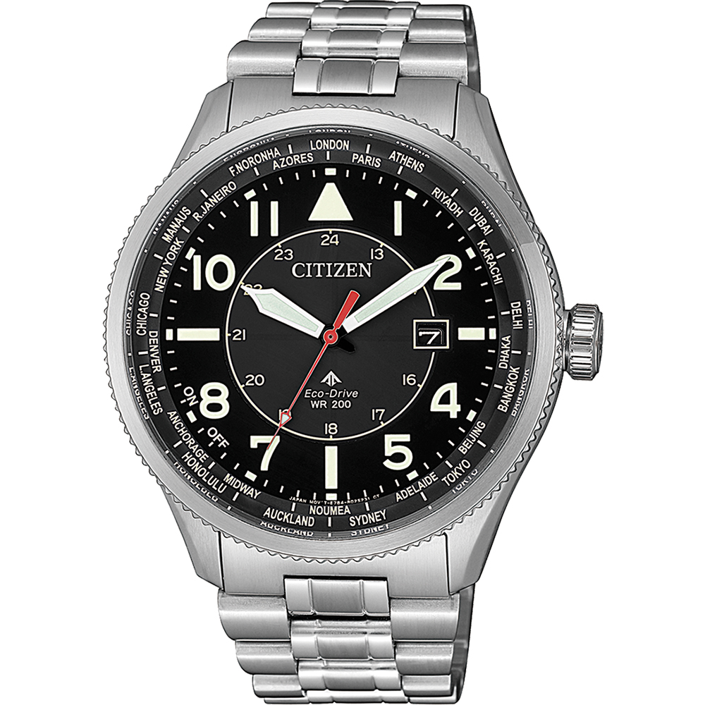 Citizen Promaster BX1010-53E Silver Stainless Steel Mens Watch