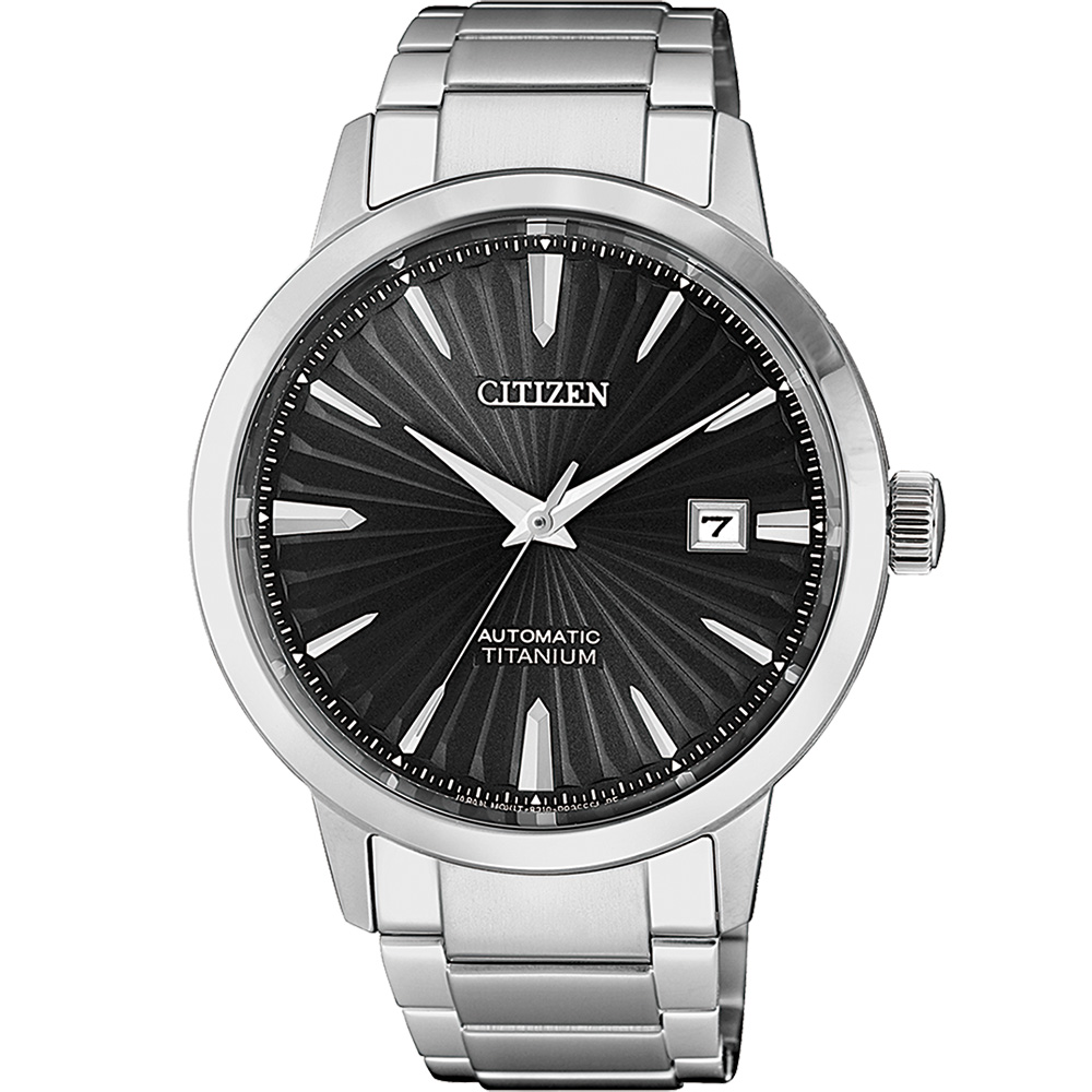 Citizen Super Titanium NJ2180-89H Silver Titanium Mens Watch