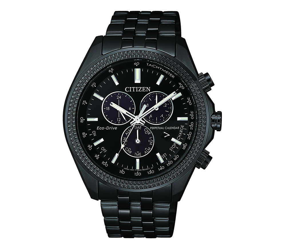 Citizen BL5567-57E Black Stainless Steel Mens Watch