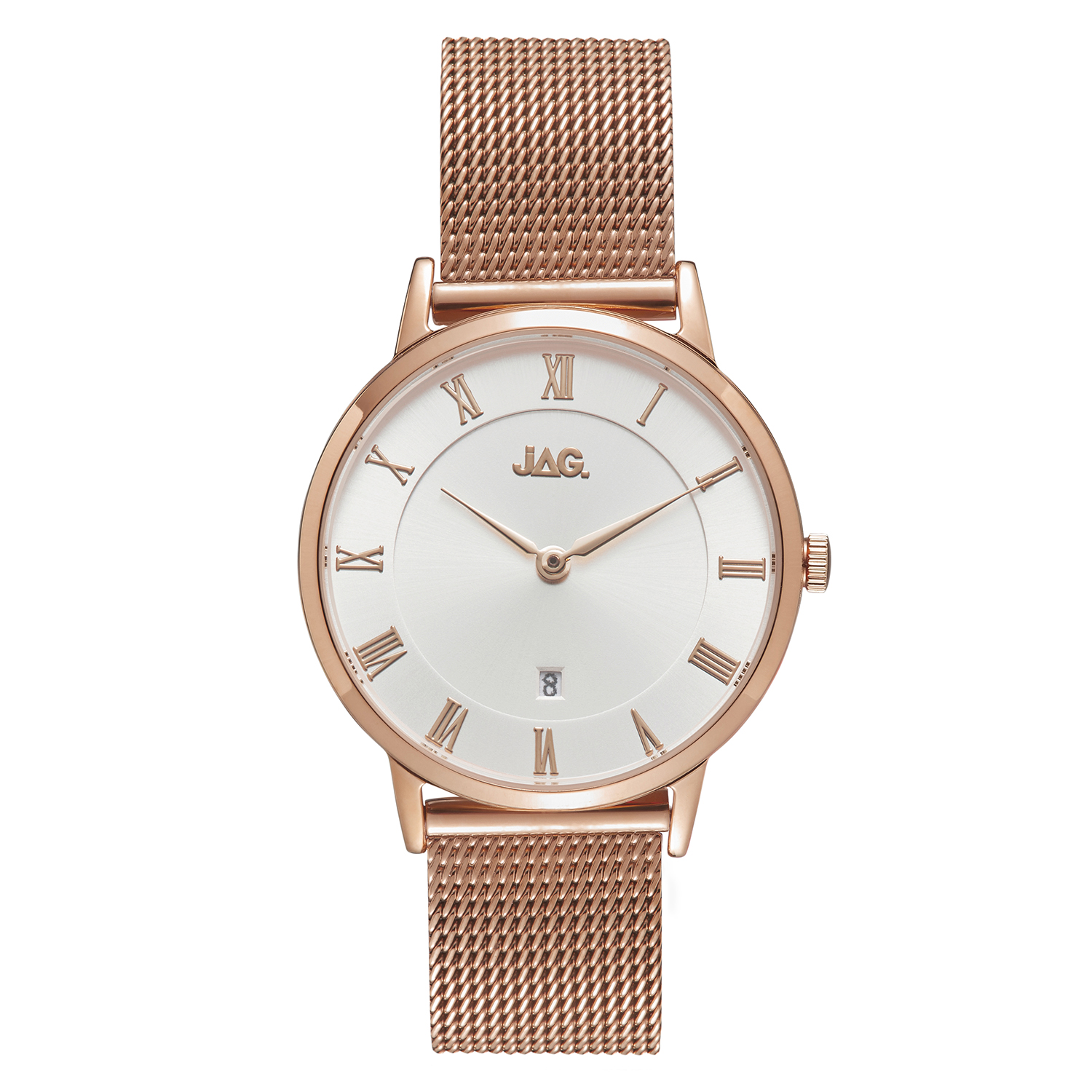 JAG Lola J2266A Rose Stainless Steel Womens Watch