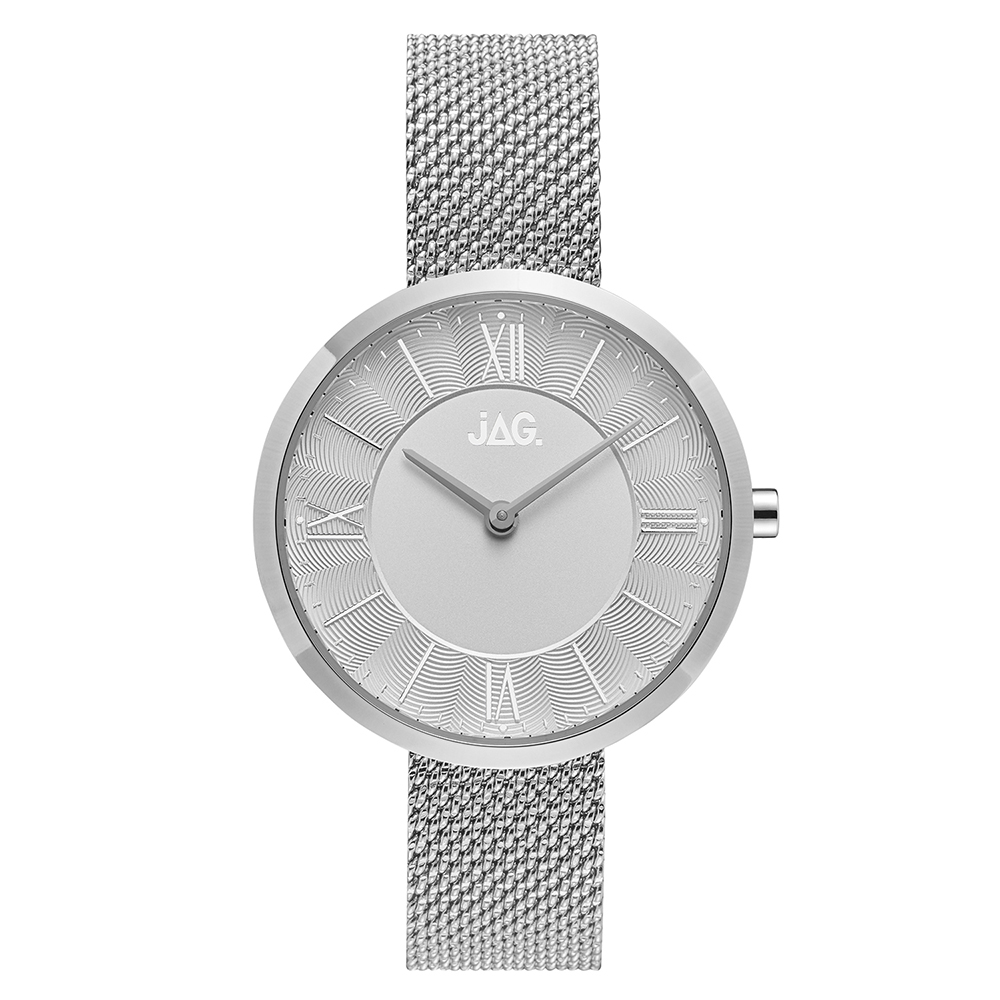 Jag Charlotte J2262A Silver Stainless Steel Womens Watch