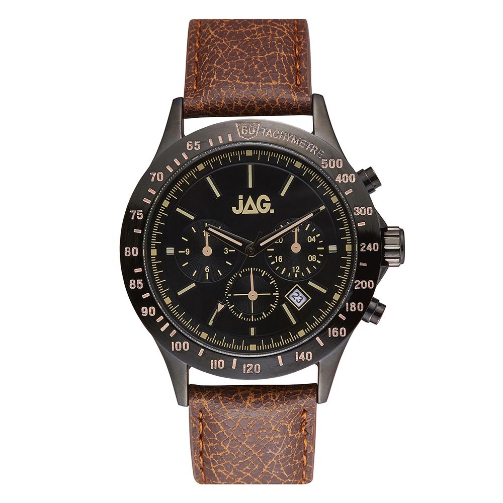 Jag Blake J2274 Brown Leather Mens Watch