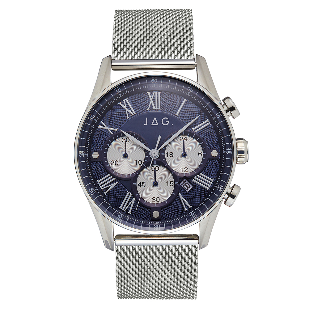 Jag Lachlan J2275A Silver Stainless Steel Mens Watch